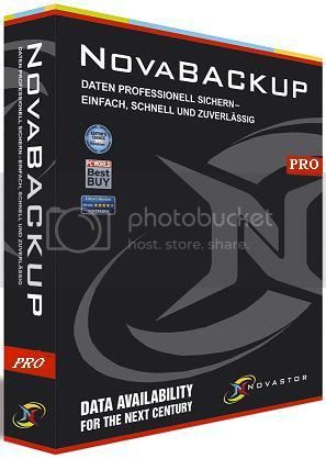 NovaBACKUP Professional 12.0